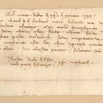An invitation addressed to Francesco and Margherita to attend a party in Florence 25th January 1388 (actually 1389)