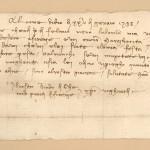 Un invito a Francesco e MArgherita per una festa a Firenze 25 gennaio 1388(=89)