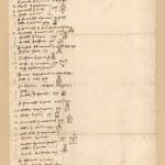 i segni dei mercanti delle merci caricate su una nave 10 giugno 1393